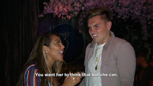 Geordie Shore's Sophie Kasaei confronts Sam Gowland over Chloe Ferry comments
