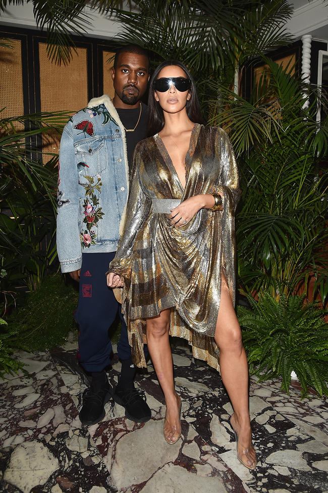 Kim Kardashian and Kanye West hired firefighters to protect property