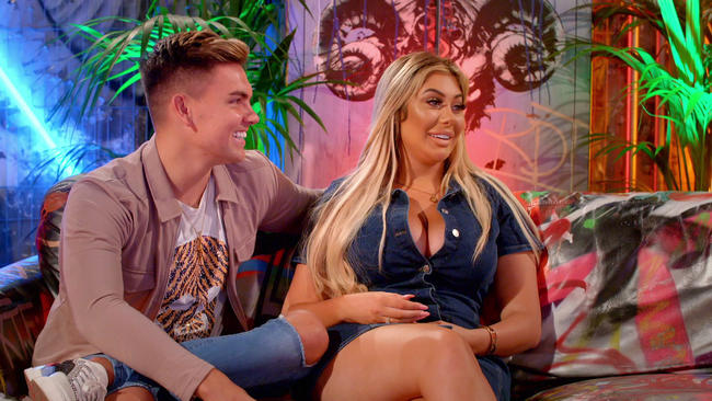 Chloe Ferry and Sam Gowland talk about their relationship on Just Tattoo Of Us