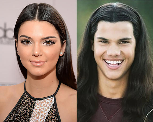 Taylor Lautner thanks Kendall Jenner for Twilight inspiration