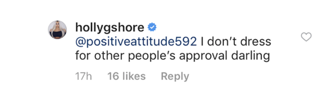 Geordie Shore's Holly Hagan hits out a fan who questioned make-up