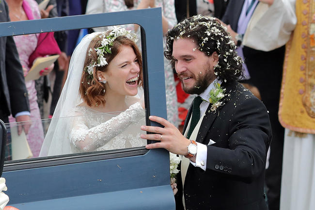 Kit Harington denies cheating on Rose Leslie with a Russian model
