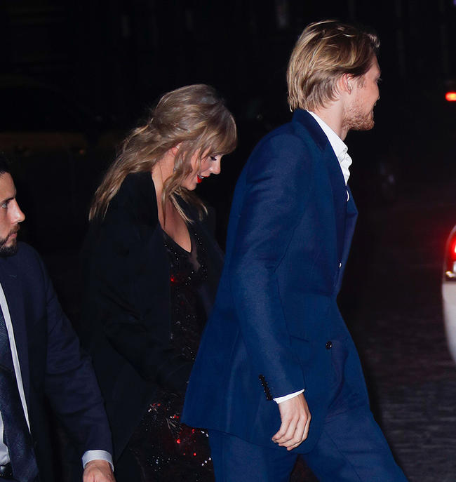 Joe Alwyn opens up about his relationship with Taylor Swift