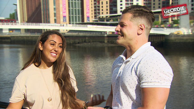 Geordie Shore's Sophie Kasaei reacts to Alex Macpherson's arrival