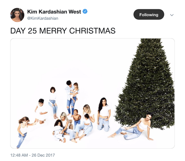 Kim Kardashian explains why the Kardashian Christmas card is cancelled