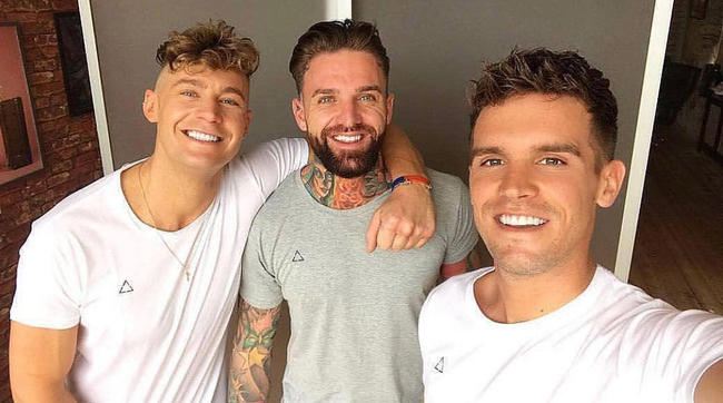 Gaz Beadle Aaron Chalmers And Scotty T Reminiscing About Geordie Shore Is The Sweetest Thing Mtv Uk