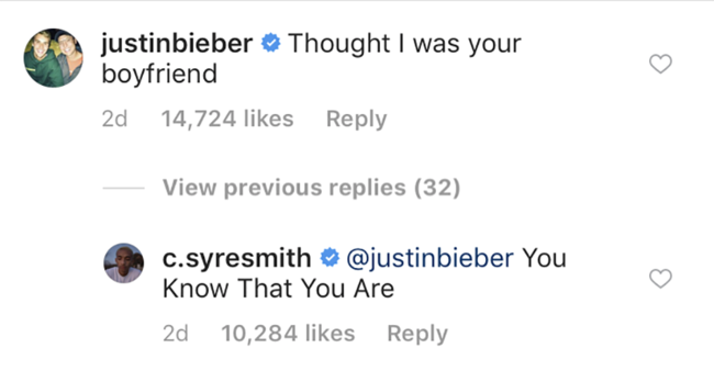 Noah Centineo and Justin Bieber are competing for the love of Jaden Smith