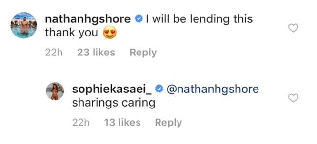 Geordie Shore's Nathan Henry wants to borrow an outfit from Sophie Kasaei