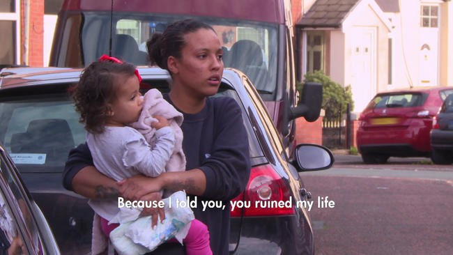 Teen Mom UK's Sassi Simmonds gets emotional after row with Darren Quirk