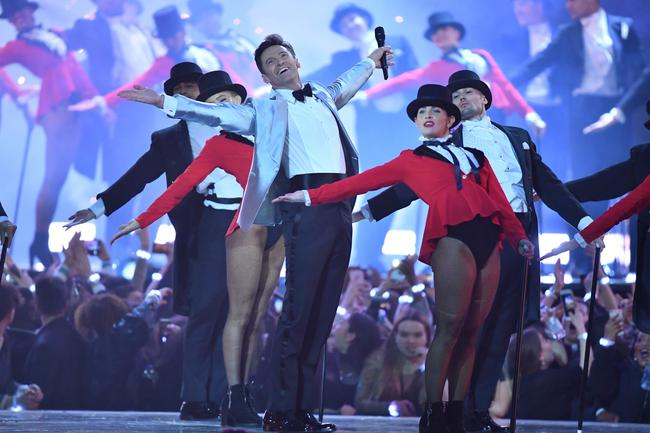 Watch Hugh Jackman perform 'The Greatest Show' at the BRIT Awards 2019