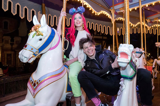 Halsey slid into Yungblud's DMs before they agreed to collaborate