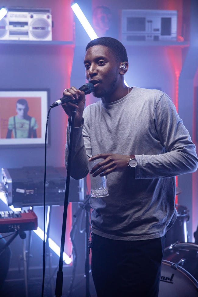Samm Henshaw performs for MTV PUSH Live at Tape London