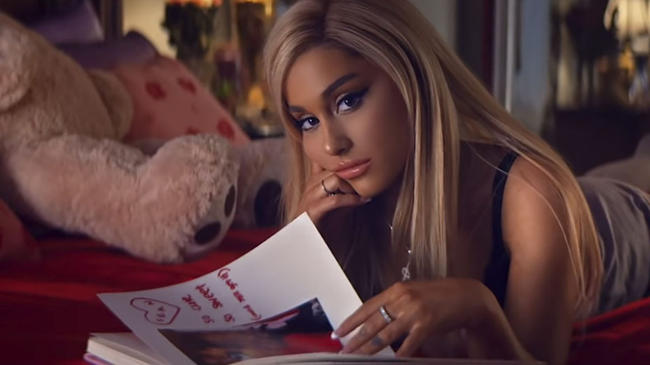 Ariana Grande to launch a line of Thank U, Next beauty products?