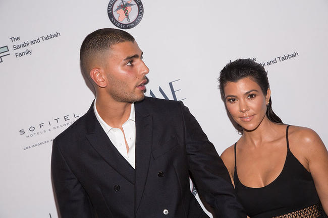 Kourtney Kardashians ex Younes leaves flirty comment on Instagram