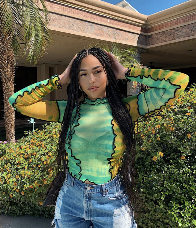 The awkward Coachella moment between Kendall Jenner and Jordyn Woods