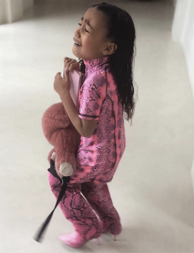 North West's iconic fashion moment ruined by mum Kim Kardashian