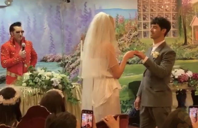 Sophie Turner and Joe Jonas got married in Las Vegas