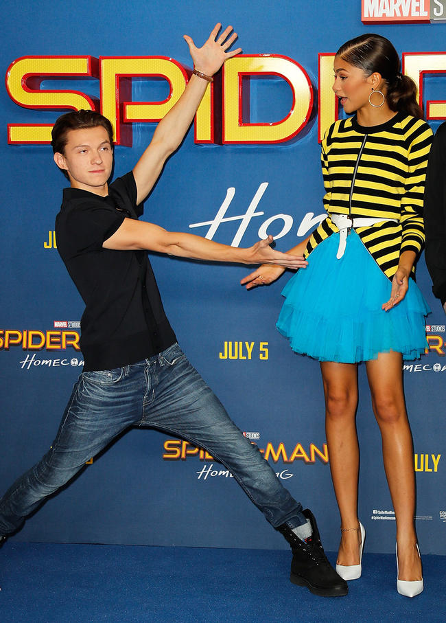 Zendaya Calls Out Tom Holland After His NSFW Post Sparks ...