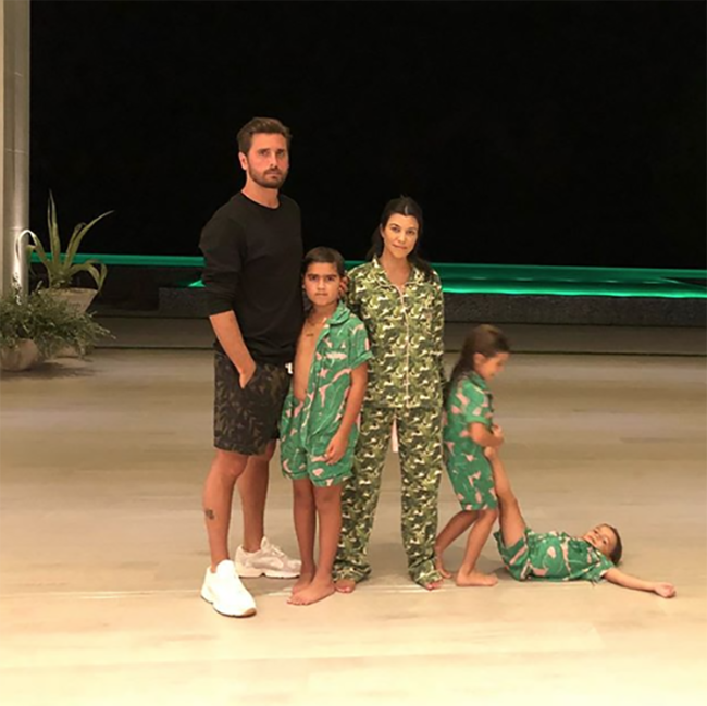 Kourtney Kardashian and Scott Disick are on holiday together
