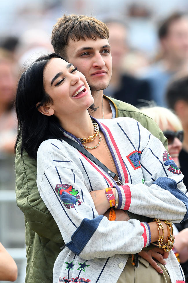 Anwar Hadid and Dua Lipa seemingly confirm romance with loved-up pics