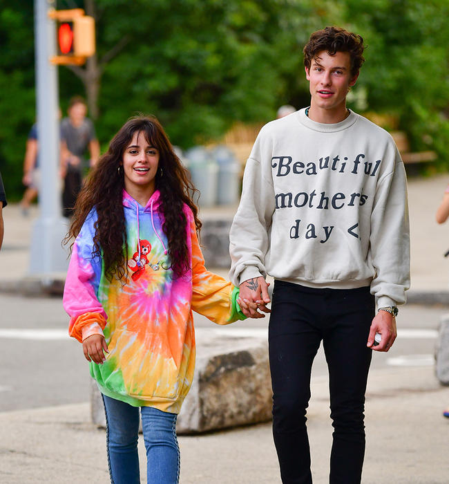 Shawn Mendes & Camila Cabello Troll Paparazzi in Halloween Masks: LOL