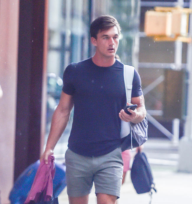 Tyler Cameron claims he and Gigi Hadid are 'just friends'
