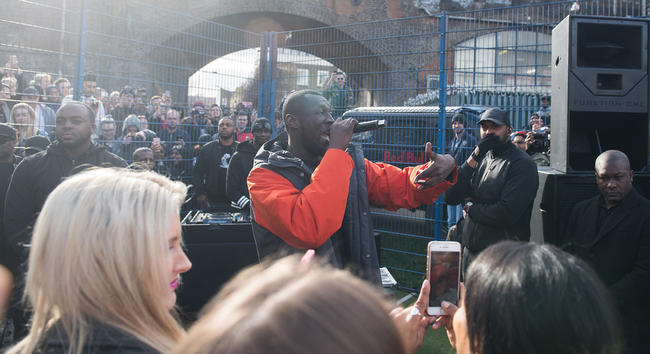 Stormzy Pop-Up Show in London
